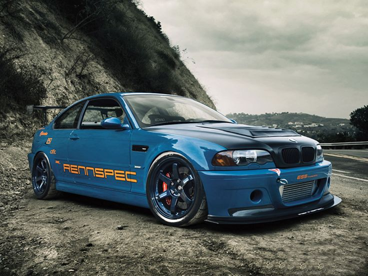 tuned bmw | bmw m3 e46 csl tuning front tuning bumper of bmw