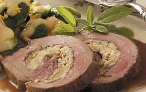 Tender Stuffed Flank Steak Recipe - Details, Calories, Nutrition Information | RecipeOfHealth.com