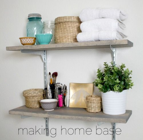 Diy Shelves For Small Bathrooms: Best 25+ Bathroom Storage Shelves Ideas On Pinterest