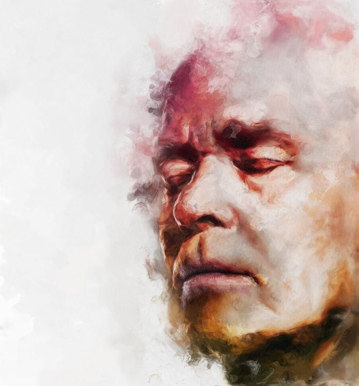 Check out our beautiful donuted artworks on the PhotoDonut Facebook page #painting #portrait #artwork