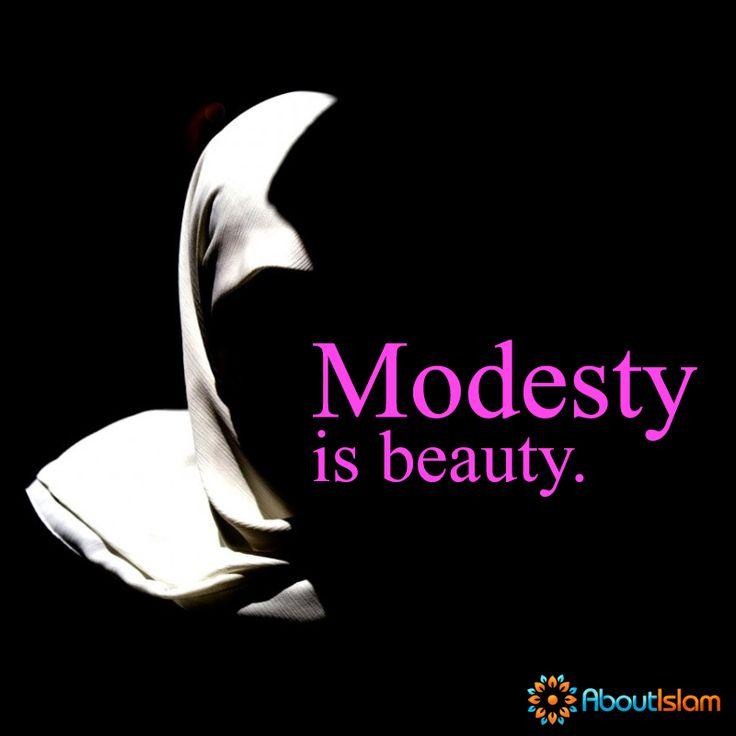 Modesty is beauty.   #Modesty #Beauty #Islam