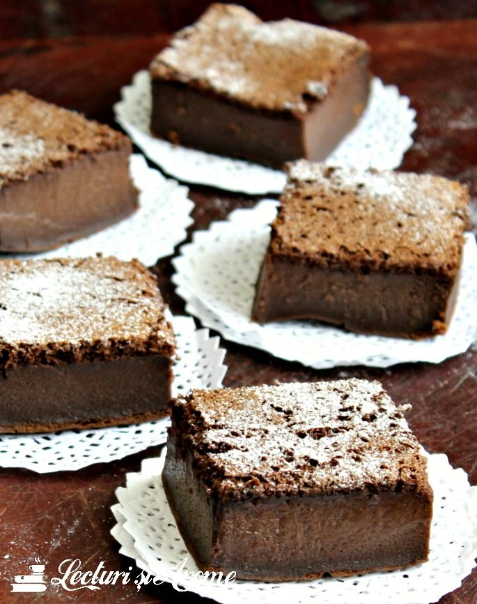 Prajitura magica cu ciocolata