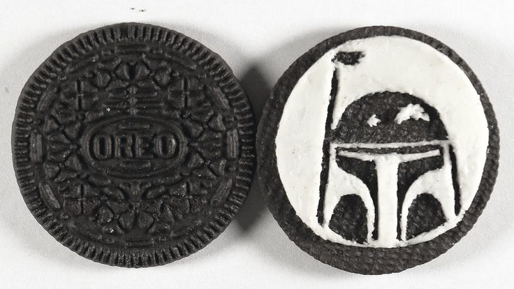 Drawing BOBA FETT on an OREO Cookie | Star Wars Speed Art https://youtu.be/rHqDFLFmj9s