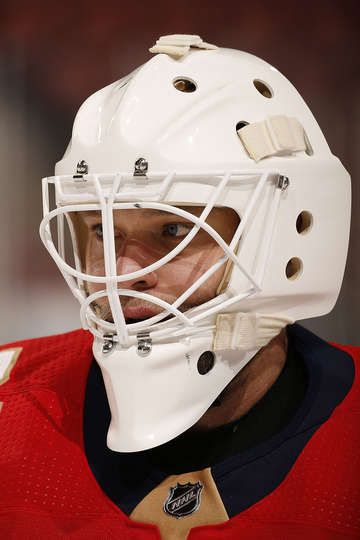 SUNRISE, FL - OCTOBER 30: Goaltender Antti Niemi #31 of the Florida Panthers skates on the ice prior to the start of the game against the Tampa Bay Lightning at the BB&T Center on October 30, 2017 in Sunrise, Florida. (Photo by Eliot J. Schechter/NHLI via Getty Images)