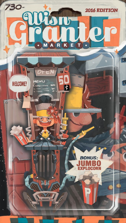 """Wishgranter Market"" Toy Series #1: Explocorn"