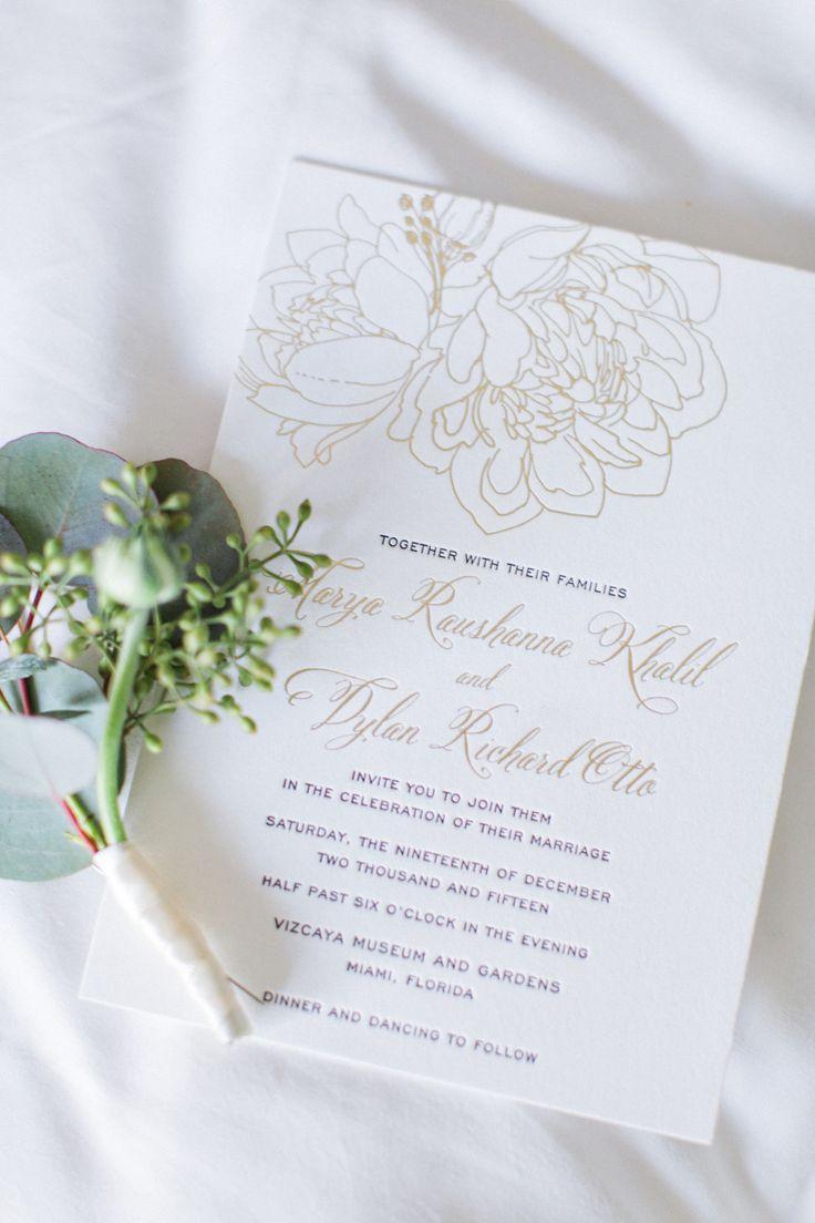 158 best Custom Wedding Invitations images on Pinterest | Custom ...