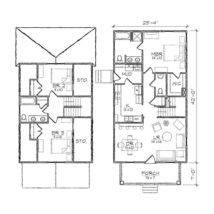 1000+ Images About 1200 Sq. Ft. House Plans On Pinterest