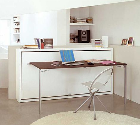 17 best images about bed desk on pinterest convertible desks and guest rooms - Beds with desks attached ...