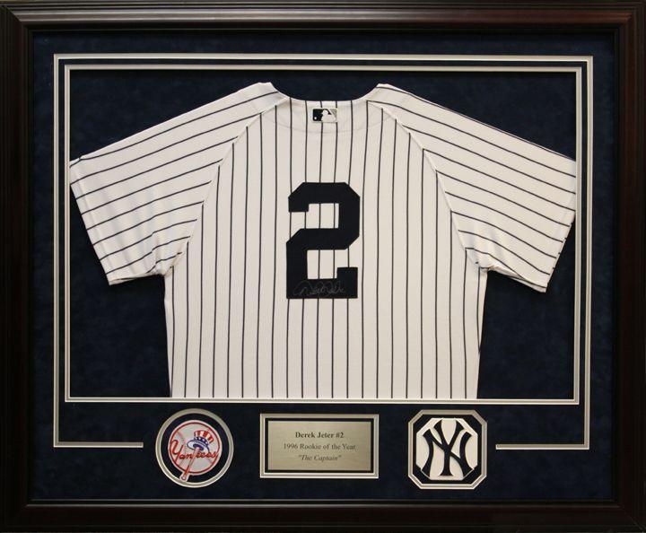The 31 best Framed Baseball Jerseys images on Pinterest   Baseball ...