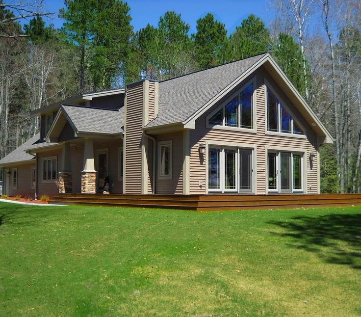 17 best images about chalets by dickinson homes on for House with covered porch