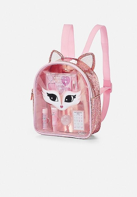 78582349ea49 Fox Glitter Cosmetic Backpack | Justice | LeighLou's Stuff in 2019 ...