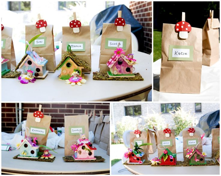 The Clevenger Family: Woodland Fairy Party