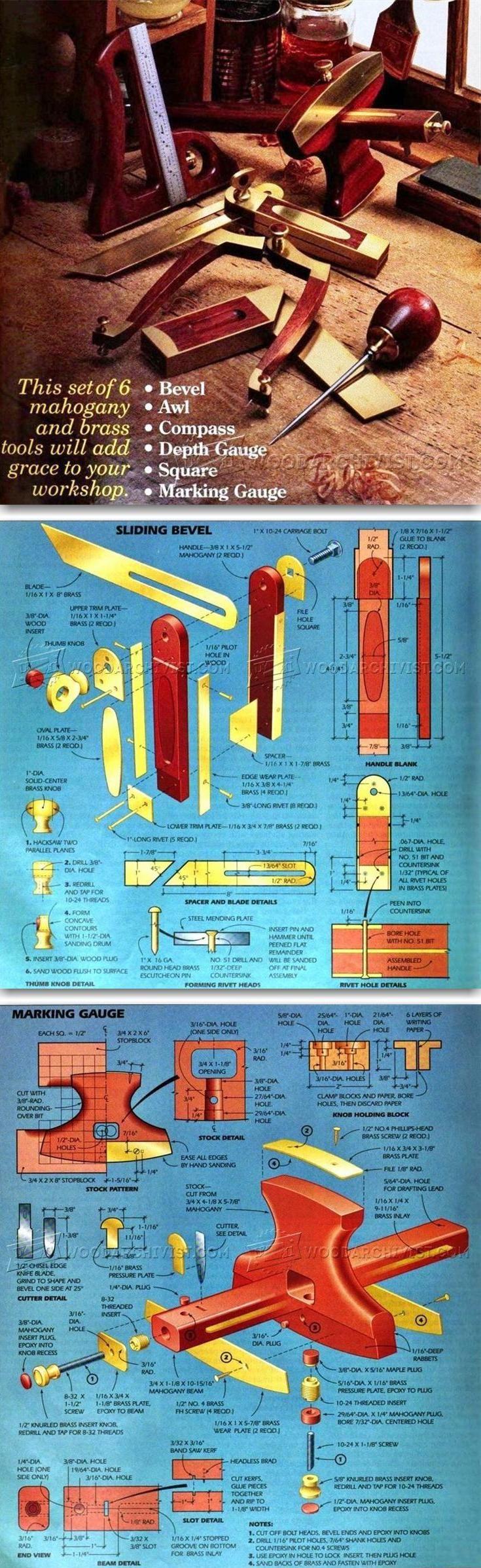 DIY Woodworking Hand Tools - Hand Tools Tips and Techniques | WoodArchivist.com