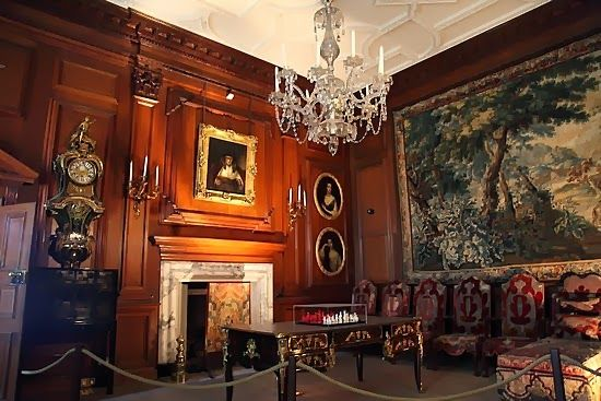 Study Drumlanrig Castle Scotland Interior Design