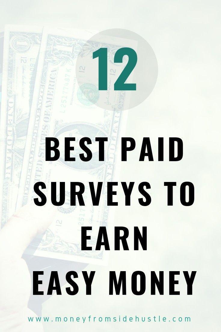 Best Paid Surveys Websites For Earning Easy Money Earning