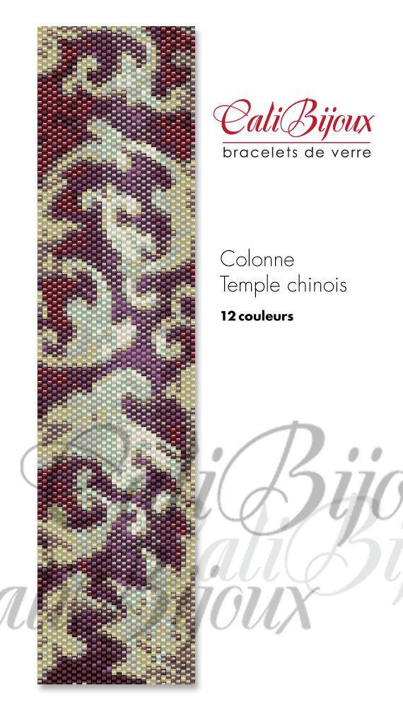PATRON : Colonne Temple chinois par CALIBIJOUX sur Etsy