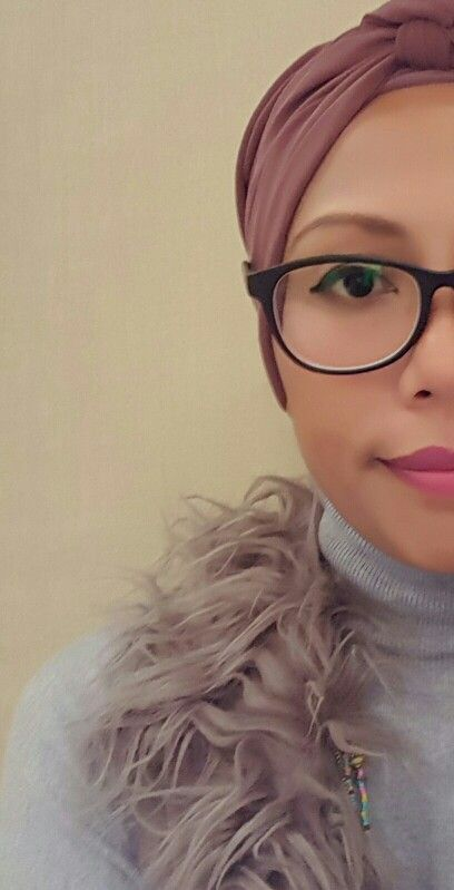 with fur and all its glory  #hijabturbanbyskyeak #hijabista # turban #hijabi #modestwear