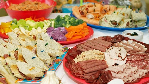 Keeping your holiday food SAFE: Bacteria can lurk on the buffet table if food is left sitting out too long or not kept at the proper temperature.