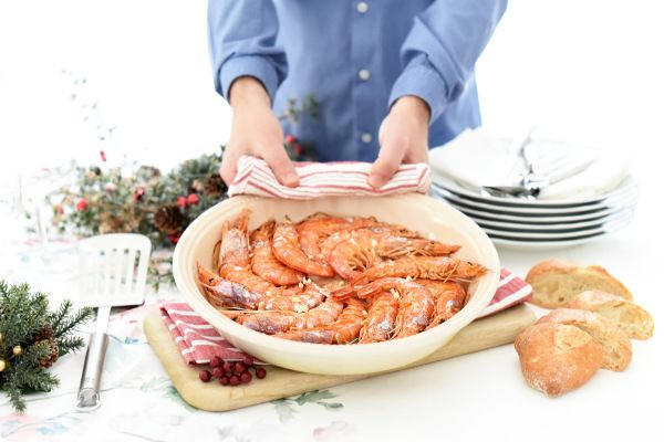 Gambones al horno, una receta realmente fácil | Velocidad Cuchara