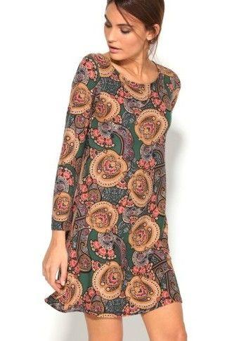 Šaty s kašmírovým dizajnom #ModinoSK