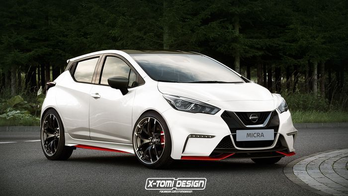 Nissan - Here's How Awesome A Nissan Micra Nismo Would Look - Car Art