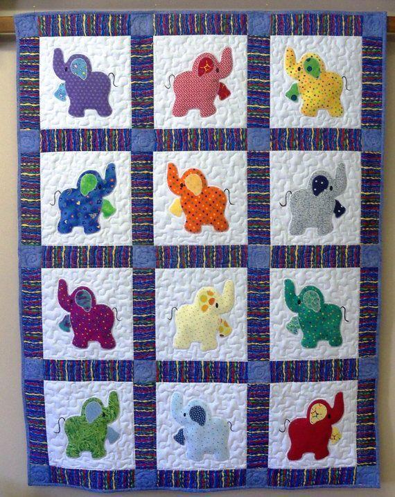 Best 25+ Elephant quilts pattern ideas on Pinterest | Baby quilts ... : baby quilt patterns pinterest - Adamdwight.com