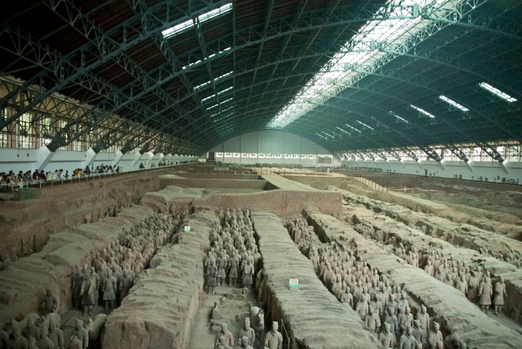 The Terracota Army, China
