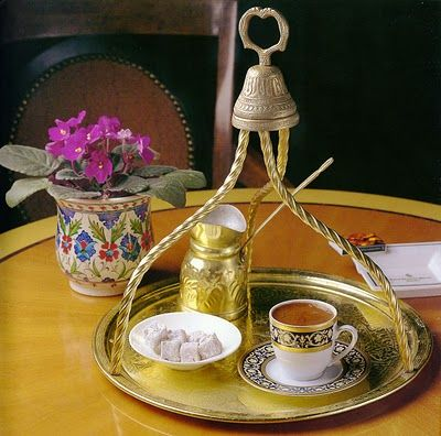 Would love to have the tray....Greek Coffee