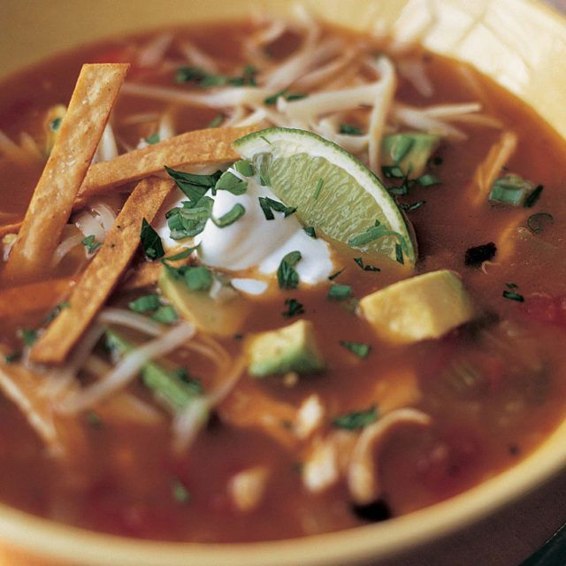 Mexican Chicken Soup - Barefoot Contessa