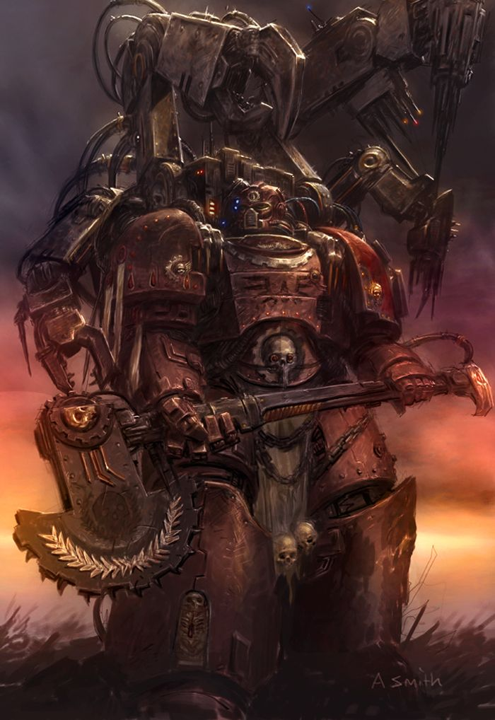 Techmarine Colored by MajesticChicken.deviantart.com on @deviantART