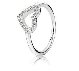 "Pandora ""Be My Valentine"" Ring."