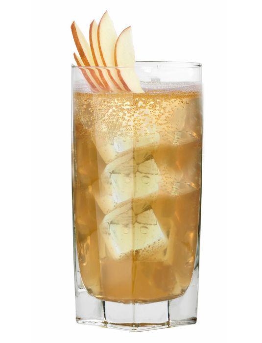 Pilgrim Punch: Shellback Spiced Rum, Irish whiskey, vanilla schnapps, lemon juice, brown sugar, brut champagne