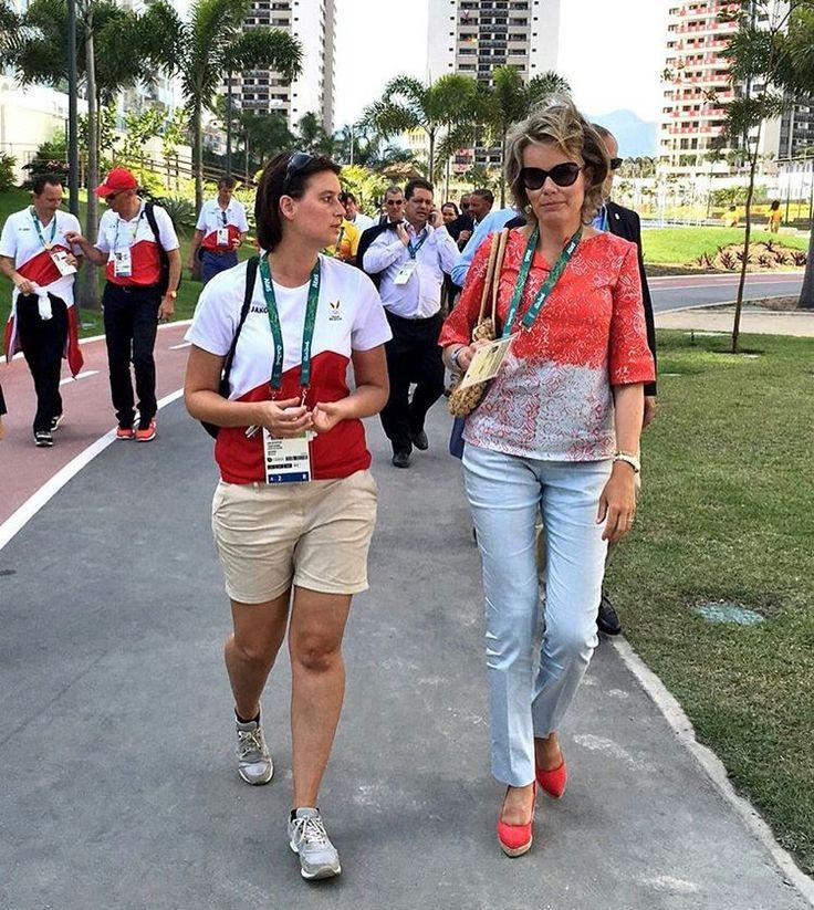 Queen Mathilde   Belgium Rio 2016