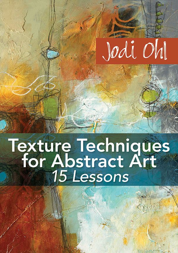 Learn one of Jodi Ohl's innovative painting techniques for creating texture in your abstract artwork with this video demonstration.