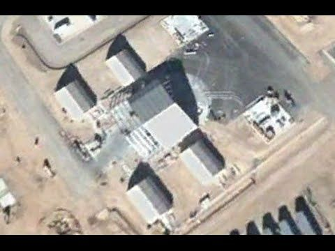 How to find a 30 meter UFOs at Area 51 using Google Earth Map Today, Mar...