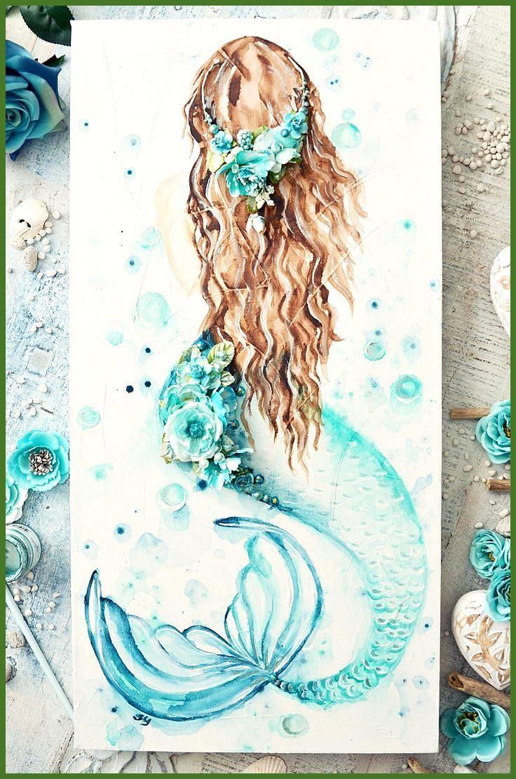 Ozean Kinderzimmer Dekor Mädchen nautische Kunst