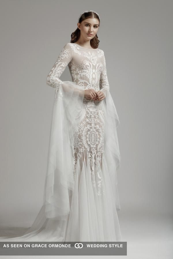 Basil Soda 2019 Couture Wedding Dress Collection Pagan Pagan Wedding Dresses Couture Wedding Wedding Dress Couture
