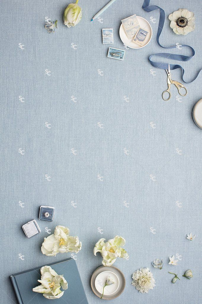 MaeMae x SC Stationery Collection: French Blue #03 tulips