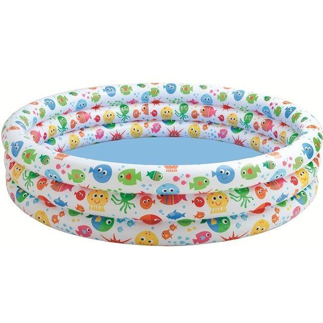Opblaasbaar zwembad met dierenprints  In dit vrolijke zwembad wil elk kind wel spelen. Dat kan want dit zwembad biedt ruimte voor meerdere kinderen!Slechts enkele op voorraad  EUR 15.95  Meer informatie