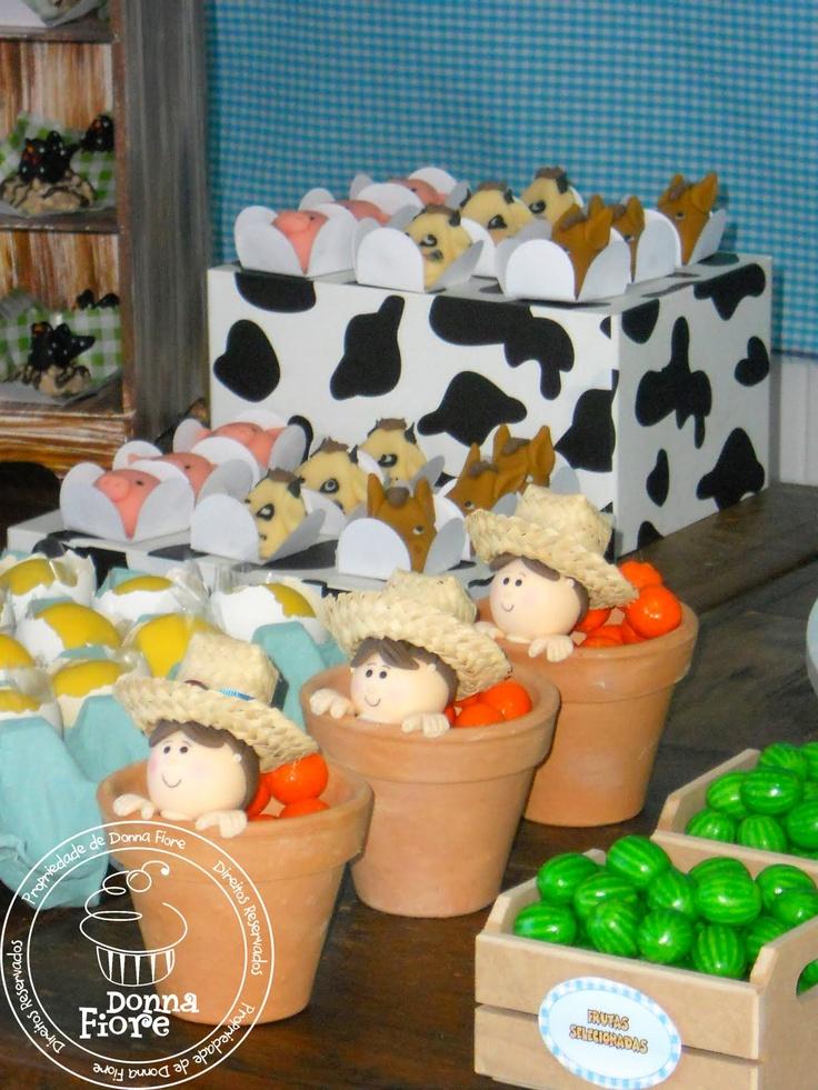Decoração Fazenda- melancias !!!love it!