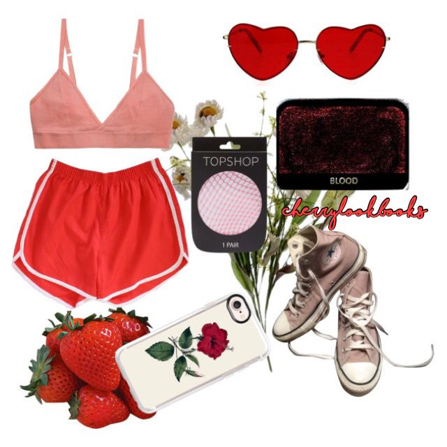 #clothes #style #trendy #trendystyle #clothing #tumblr #aesthetic #tumblrstyle #polyvore #sunset #pink #red #orange #converse