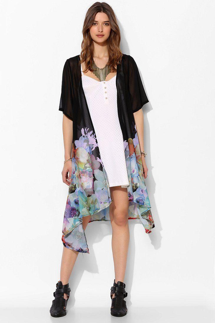 91 best kimono cardigan images on Pinterest | Ponchos, Beads and ...