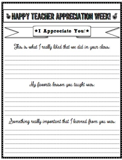 teacher appreciation letters  The High-Tech Teacher: Stuff Students Say and Other Classroom Treasures