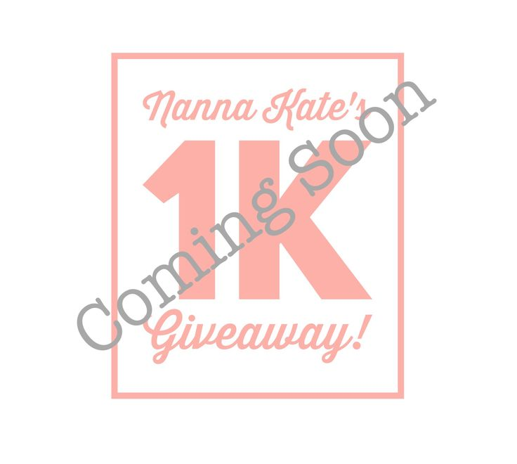 Head over to my Instagram account @nannakates.. and stay tuned for my official giveaway post!