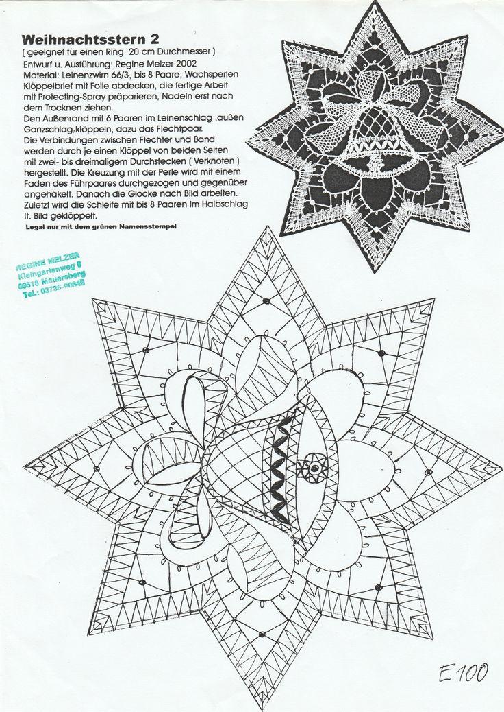 hvězda - zvoneček - vánoce