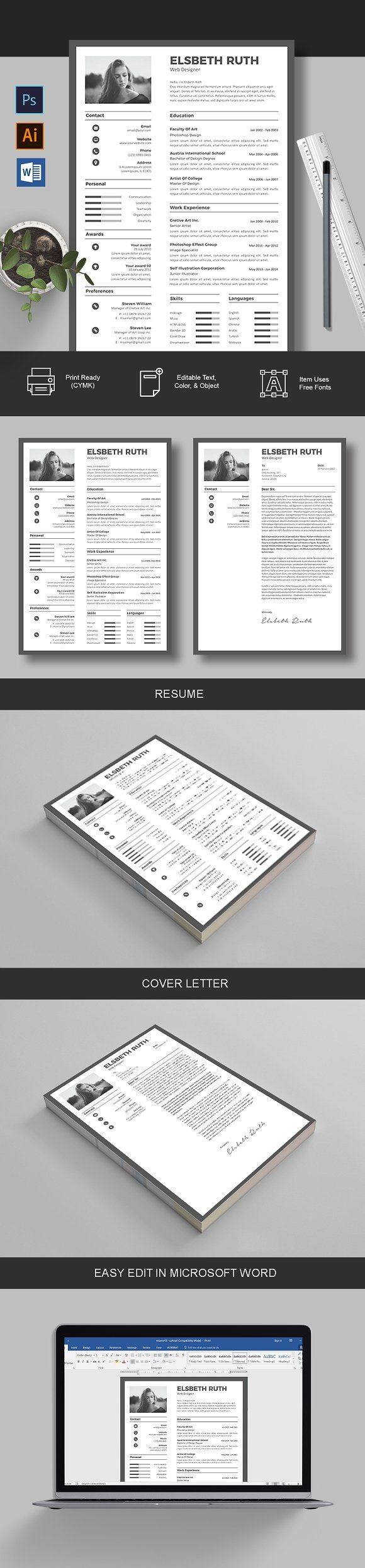 Resume u0026 Cover Letter creativework247 25 best
