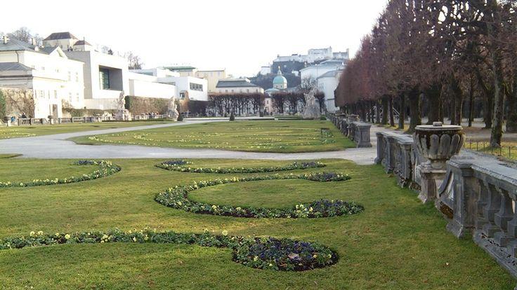 Mirabellaplatz garden Salzburg