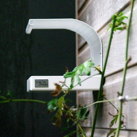 Vogelvoederhuisje Staal Wit