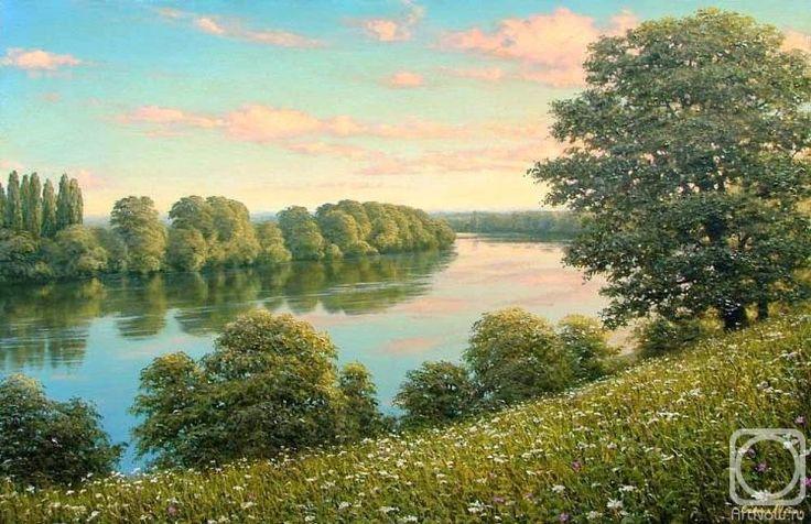 Олейник Аркадий. Река Кубань 4