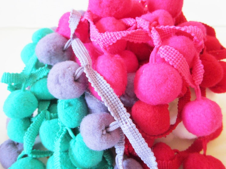 Jumbo Pom Pom Trim  Collection Selection (Save 10%)